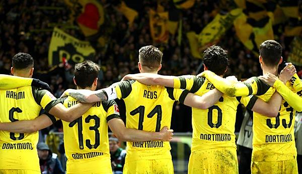 Borussia Dortmund: Das Restprogramm in der Bundesliga
