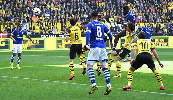 Dortmund Schalke Ergebnisse