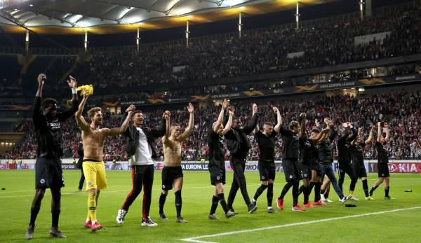 Restprogramm Eintracht Frankfurt