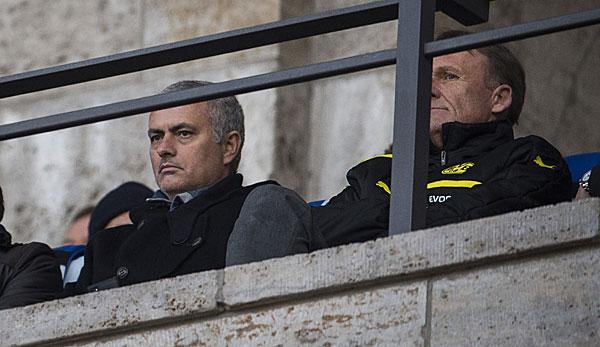 BVB – News und Gerüchte: Jose Mourinho beriet Hans-Joachim Watzke