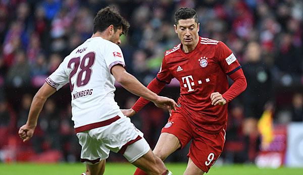 Bundesliga 1 Fc Nurnerg Gegen Fc Bayern Munchen Heute Live