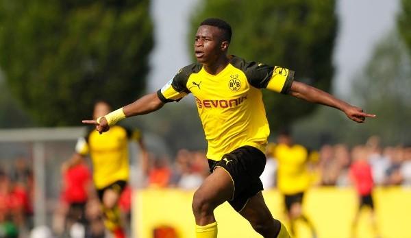 BVB-Talent Youssoufa Moukoko unterschreibt offenbar Zehn-Millionen-Euro-Vertrag