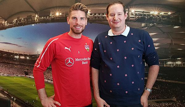 SPOX-Chefreporter Florian Regelmann traf Ron-Robert Zieler in Stuttgart.