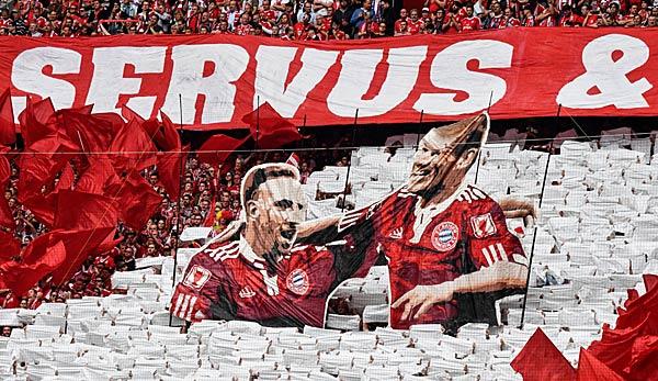 FC Bayern Vs Eintracht Frankfurt Die Meisterfeier Und