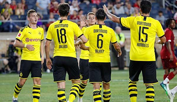 Testspiel BVB Vs St Gallen Im LIVE TICKER Zum Nachlesen