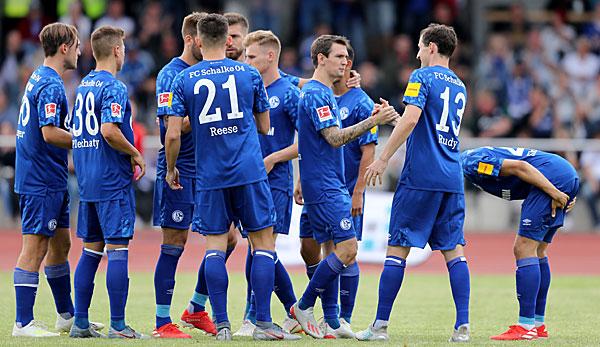 Bundesliga-Testspiele am 14. Juli: Schalke verspielt 2:0-Vorsprung gegen Amateurklub