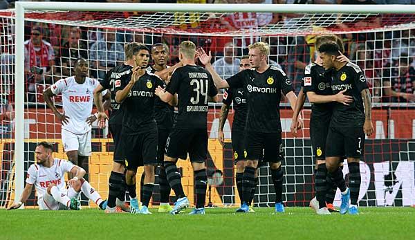 1. FC Köln - Borussia Dortmund 1:3: BVB entführt nach 0:1-Rückstand drei Punkte aus Köln