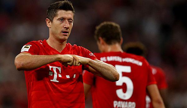FC Bayern München - Robert Lewandowski: Zwei, drei Spieler machen einen großen Unterschied