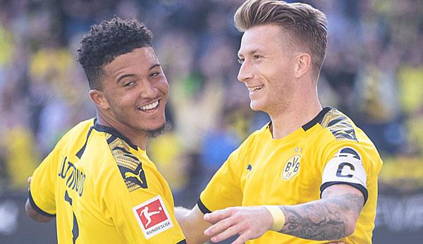 BVB - News und Gerüchte: Jadon Sancho ist überglücklich bei Borussia Dortmund