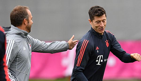 """FC Bayern München - Robert Lewandowski über Trainer Hansi Flick: """"Der richtige Mann"""""""