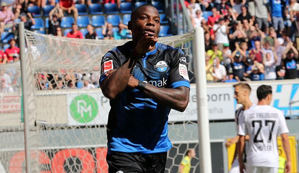 """Paderborn-Stürmer Streli Mamba im Interview: """"Ich werde Fußball-Profi! Euch werde ich es schon beweisen!"""""""