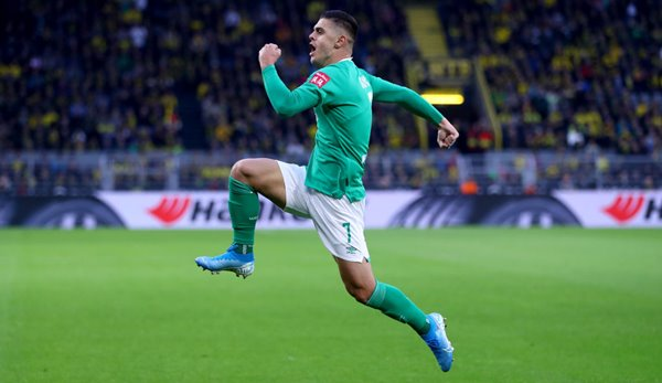 Werder Bremen's Milot Rashica was directly involved in nine goals this season.