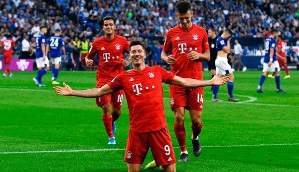 Fc Bayern Gegen Schalke 04