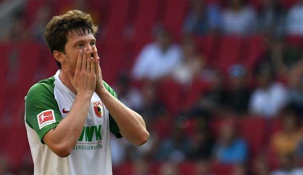 Beim FCA sah Gregoritsch nicht die erhoffte Spielzeit.