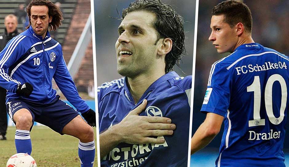Schalke Rückennummern