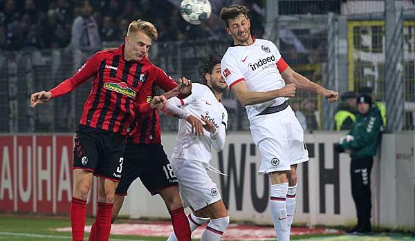Eintracht Frankfurt - SC Freiburg heute live im TV, Livestream und Liveticker