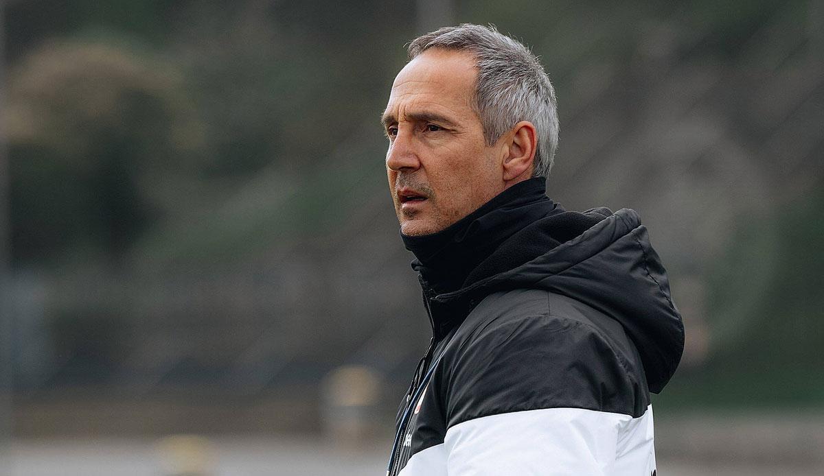 Eintracht Frankfurt: Adi Hütter hat keine Selbstzweifel