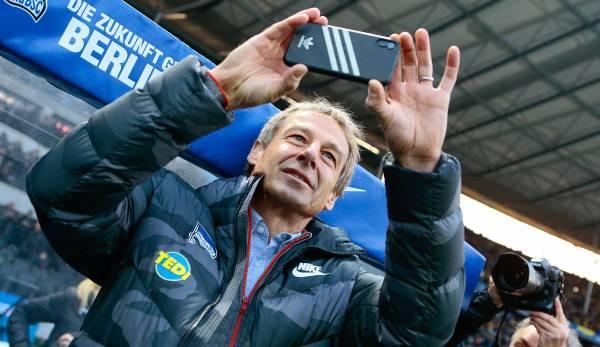 Le match aller était également le premier match sous Jürgen Klinsmann.