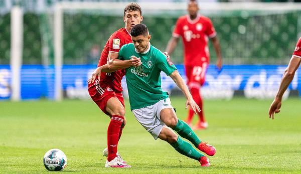 Milot Rashica musste am Mittwoch das Training aufgrund einer Knöchelverletzung vorzeitig abbrechen.