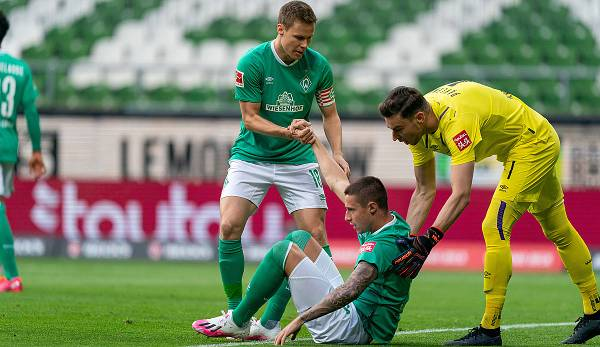 Malgré le revers contre Francfort, l'entraîneur de Brême Florian Kohfeldt est loin d'être éliminé.