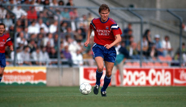 Bodo Schmidt en son temps en tant que joueur du SpVgg Unterhaching.