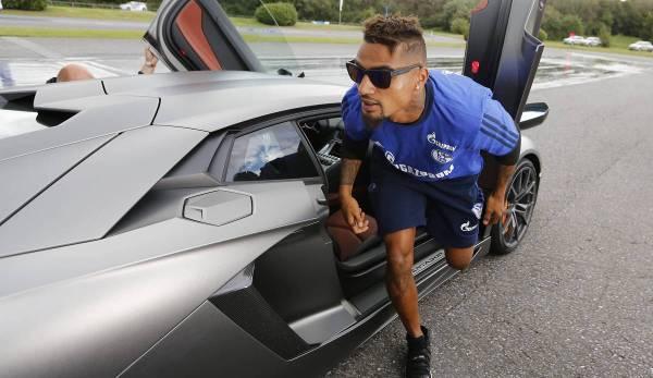 Kevin-Prince Boateng est connu pour ses voitures extravagantes.