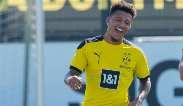 Borussia Dortmund mit Jadon Sancho im Trainingslager