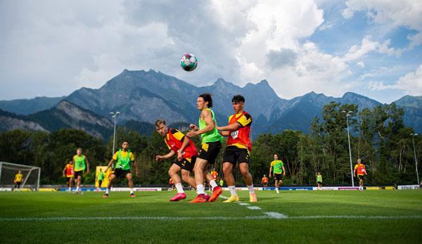 BVB se prépare actuellement pour la nouvelle saison au camp d'entraînement à Bad Ragaz, en Suisse.
