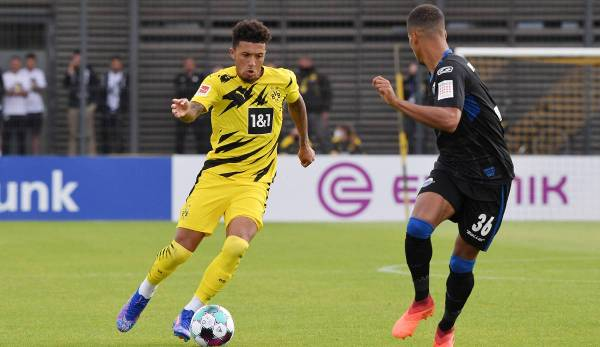 Jadon Sancho stellte nur Brasilianer in sein Five-a-side-Team.