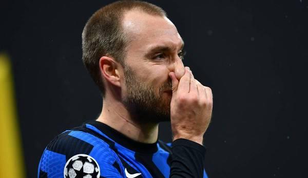 Christian Eriksen steht bei Inter vor dem Aus.
