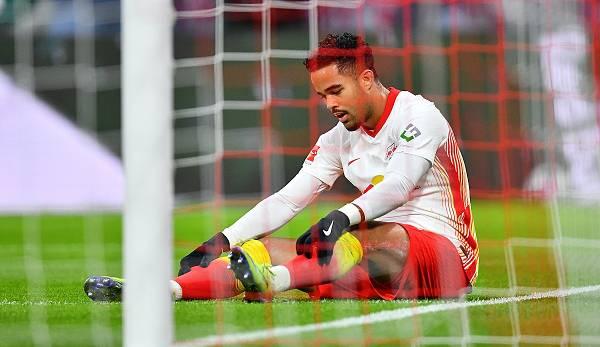Kluivert musste gegen Hoffenheim nach seiner Einwechslung wieder ausgewechselt werden.