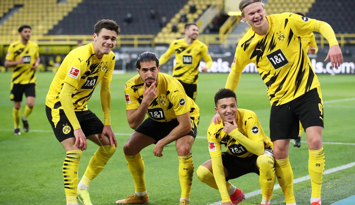 Borussia Dortmund - Arminia Bielefeld 3:0: Sancho hält CL-Ambitionen am Leben - SPOX.com
