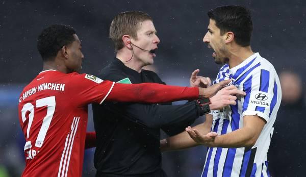 Sami Khedira hat am Freitagabend nach über zehn Jahren sein Comeback in der Bundesliga gefeiert.