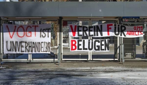 Die VfB-Fans haben in letzter Zeit deutlich gesagt, was sie über die Situation denken.