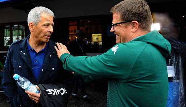 Arbeiteten überuas erfolgreich bei Borussia Mönchengladbach zusammen: Max Eberl und Lucien Favre.