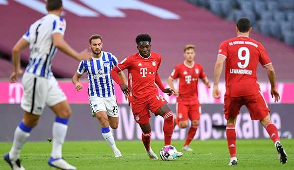 Bayern bezwang Hertha in der Hinrunde 4:3.