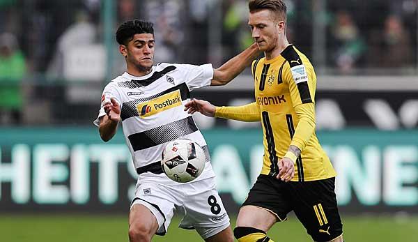Zwei Leistungsträger bei Borussia Mönchengladbach, die mittlerweile beim BVB spielen: Mahmoud Dahoud und Marco Reus