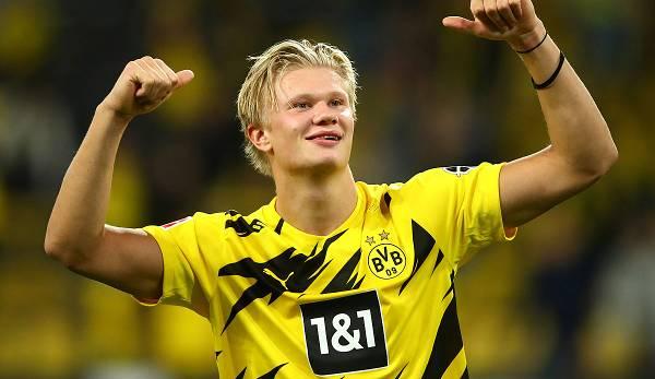 Haaland steht noch bis 2024 bei der Borussia unter Vertrag.