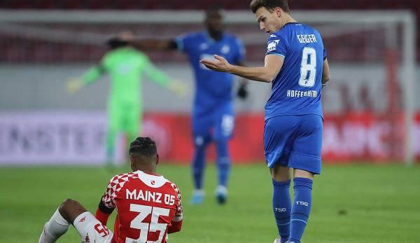 Das Hinspiel zwischen Mainz und Hoffenheim endete 1:1.