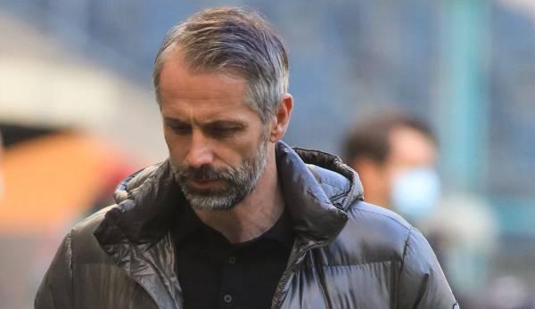 Marco Rose und Borussia Mönchengladbach schlittern immer tiefer in die Krise.