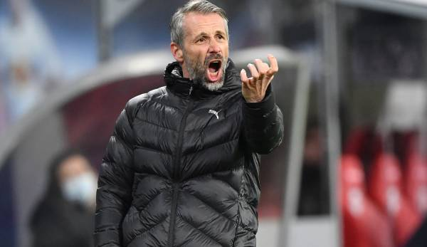 Marco Rose steht bei den Anhängern von Borussia Mönchengladbach stark in der Kritik.