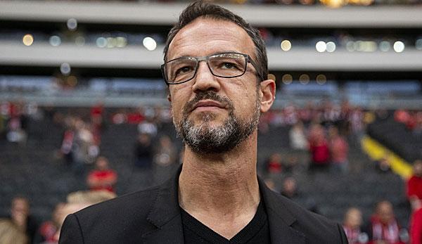 Steht bie EIntracht Frankfurt in der Kritik aufgrund der eigenmächtigen Kommunikation seines Abschieds: Sportvorstand Fredi Bobic.