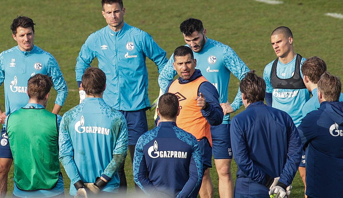 Schalke 04 - Trainer Dimitrios Grammozis im Porträt: