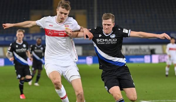 Arminia Bielefeld spielt heute um den Klassenerhalt beim VfB Stuttgart.