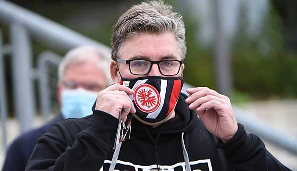 Vrstandssprecher Axel Hellmann ist nicht einverstanden mit dem Saisonende von Eintracht Frankfurt und der