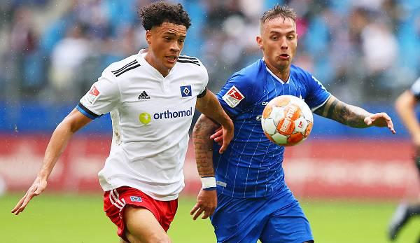 Hamburger SV - SV Darmstadt 2:2: Nur ein Punkt! HSV ...
