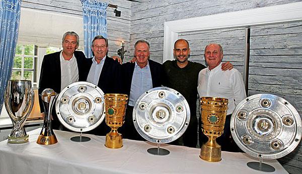 Bayern-Führung verabschiedet Pep Guardiola