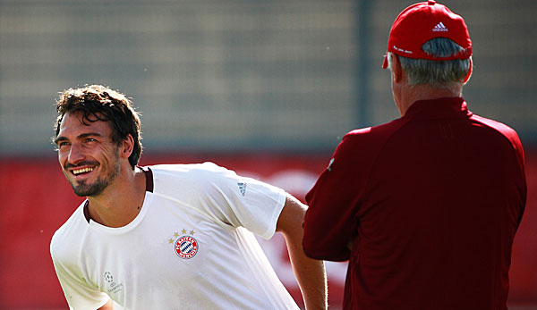 Image result for Mats Hummels and Ancelotti