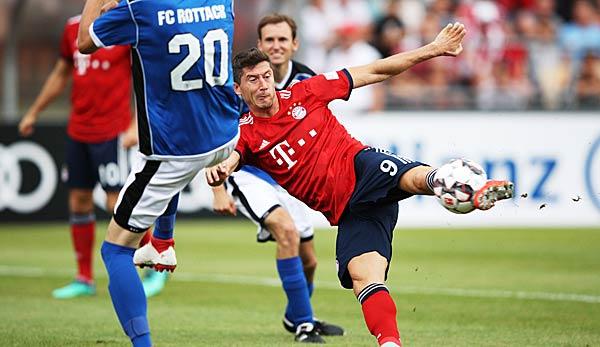 FCB Testspiel Das Sch U00fctzenfest Des FC Bayern Im