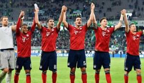 Bayern siegt in Wolfsburg: Zurück in der Normalität